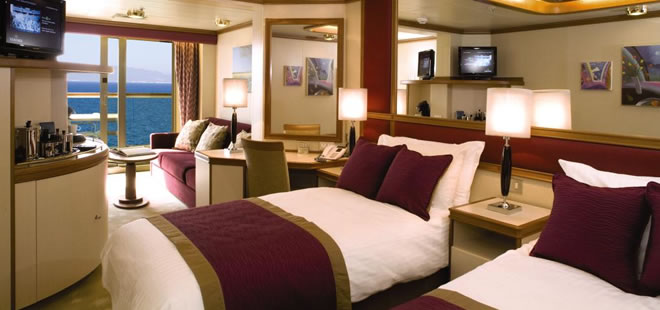 Shipsstaterooms - Stateroom on a cruise ship
